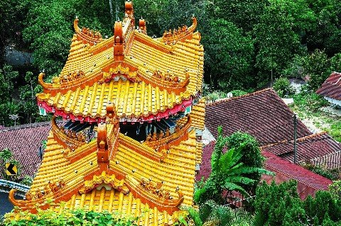 Chinese culture has had a big influence on Malaysia