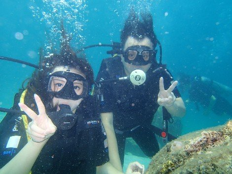 Great diving off the Perhentian Islands near Kota Bharu