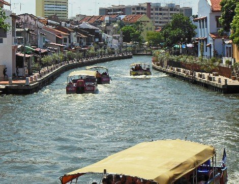 Riverfront in Malacca
