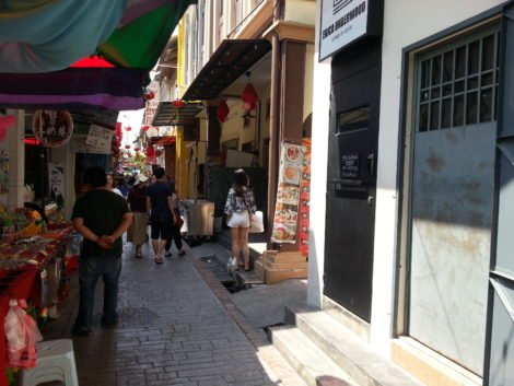 Concubine Lane attracts many tourists