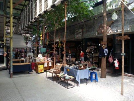 Craft stores inside Plan b