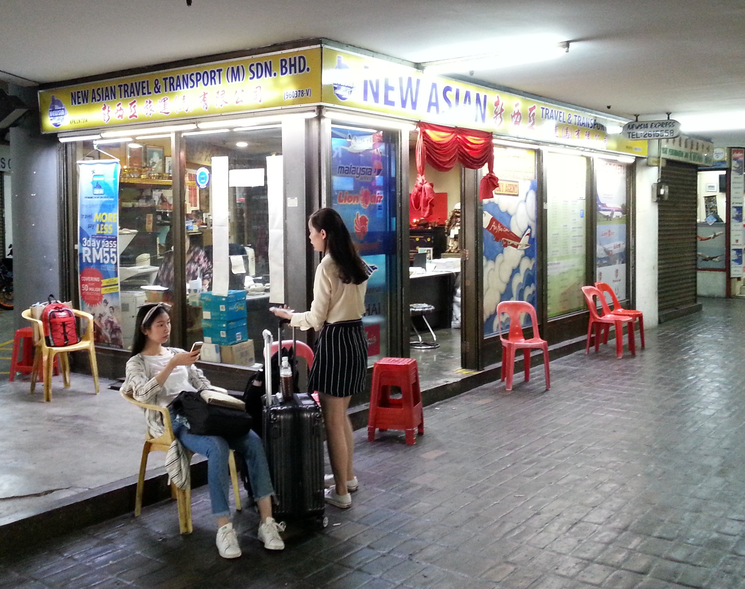 New Asian Travel Office in Penang