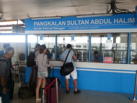 Ticket Office for the Ferry to Penang