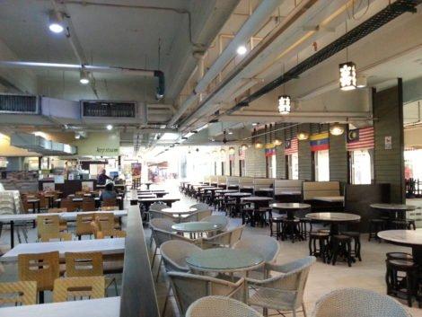 Food Court at KL Central Market