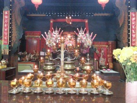 Altar at Ipoh Tai Pak Koong Temple