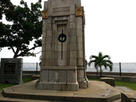 Cenotaph at the Esplanade