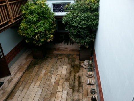 Courtyard at Cheah Kongsi