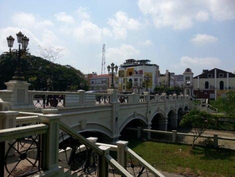 Hugh Low Bridge in Ipoh