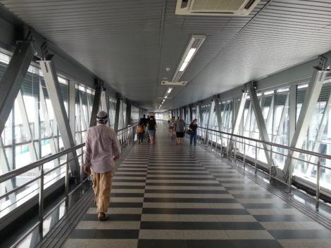 Inside the Bukit Bintang Walkway