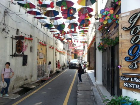 Ipoh's Old Town area is a popular destination