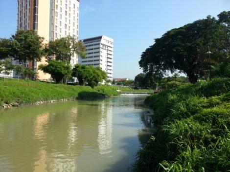 Kinta River in Ipoh