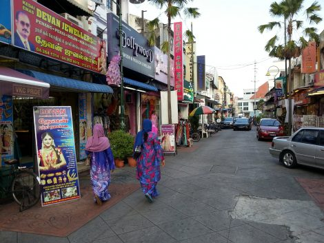 Lebuh Pasar in George Town