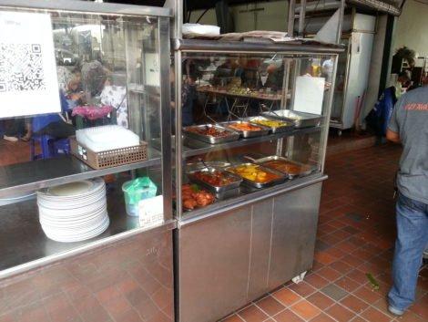 Nasi Kandar at Sri Weld Food Court