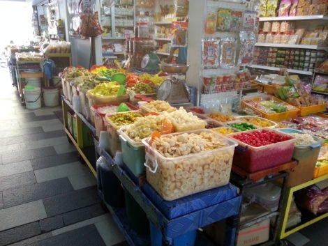 Preserved fruit at Pasar Chowrasta