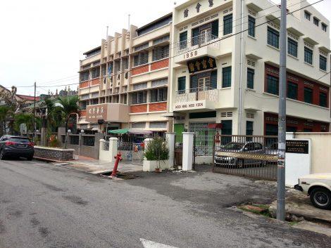 The Aik Hua School was funded by Penang Kheng Chew Hooi Kuan Clan Association