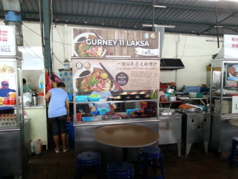 This laksa stall was very popular