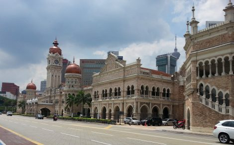 The Sultan Abdul Samad Building in Kuala Lumpur