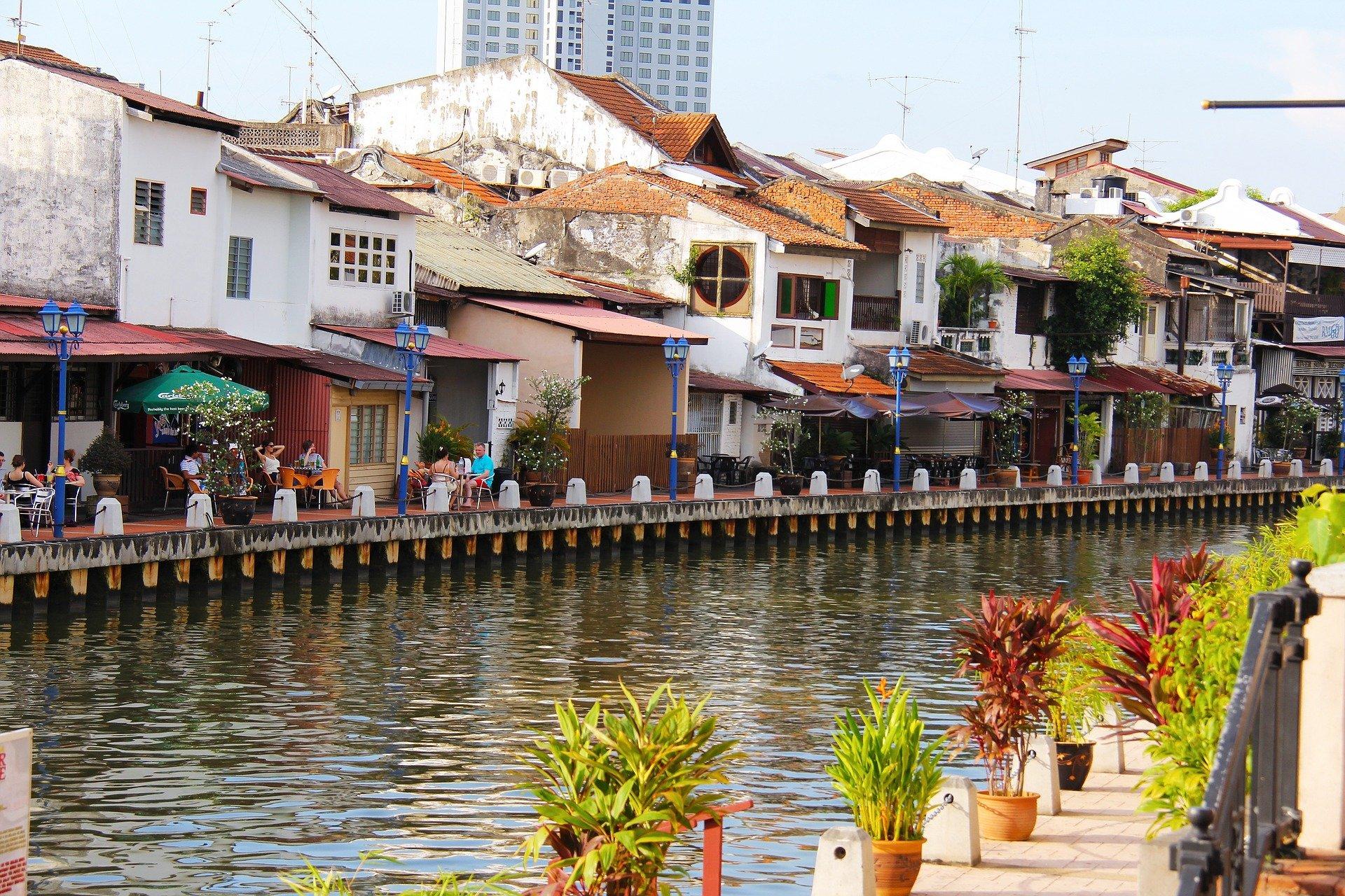 Riverfront in Melaka