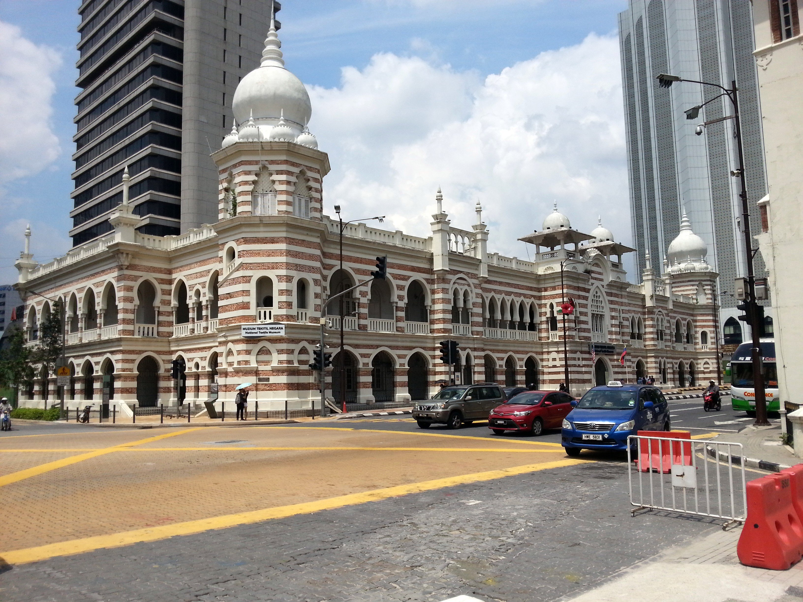 The National Textile Museum in Kuala Lumpur