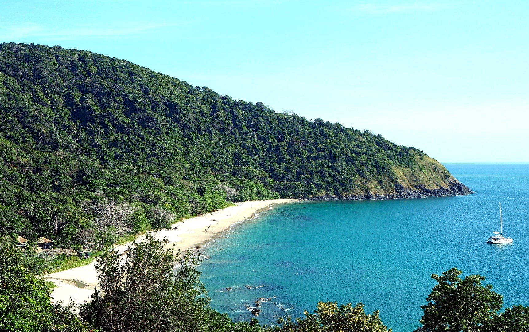 Beach in Koh Lanta
