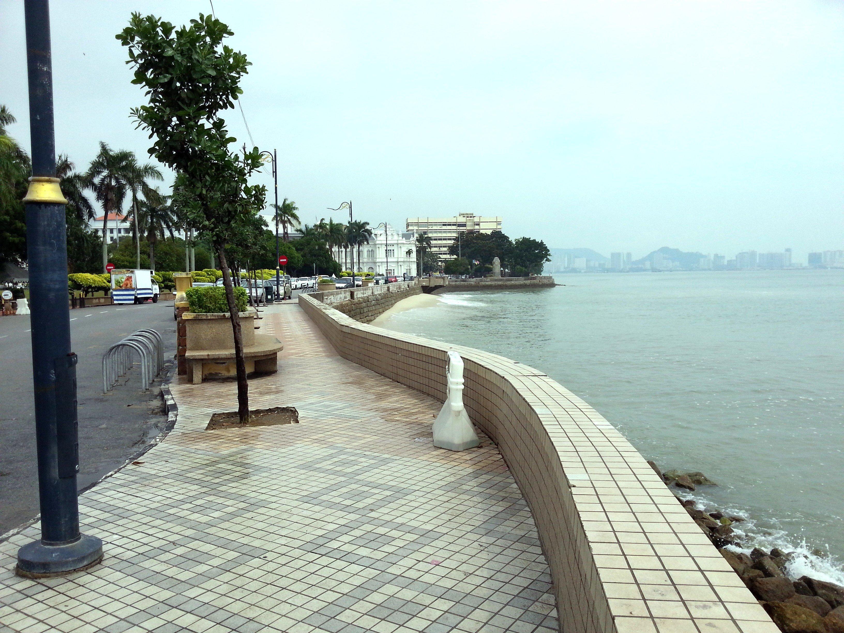Espanlade in George Town, Penang