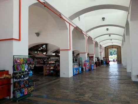 Market stalls at Eagle Square