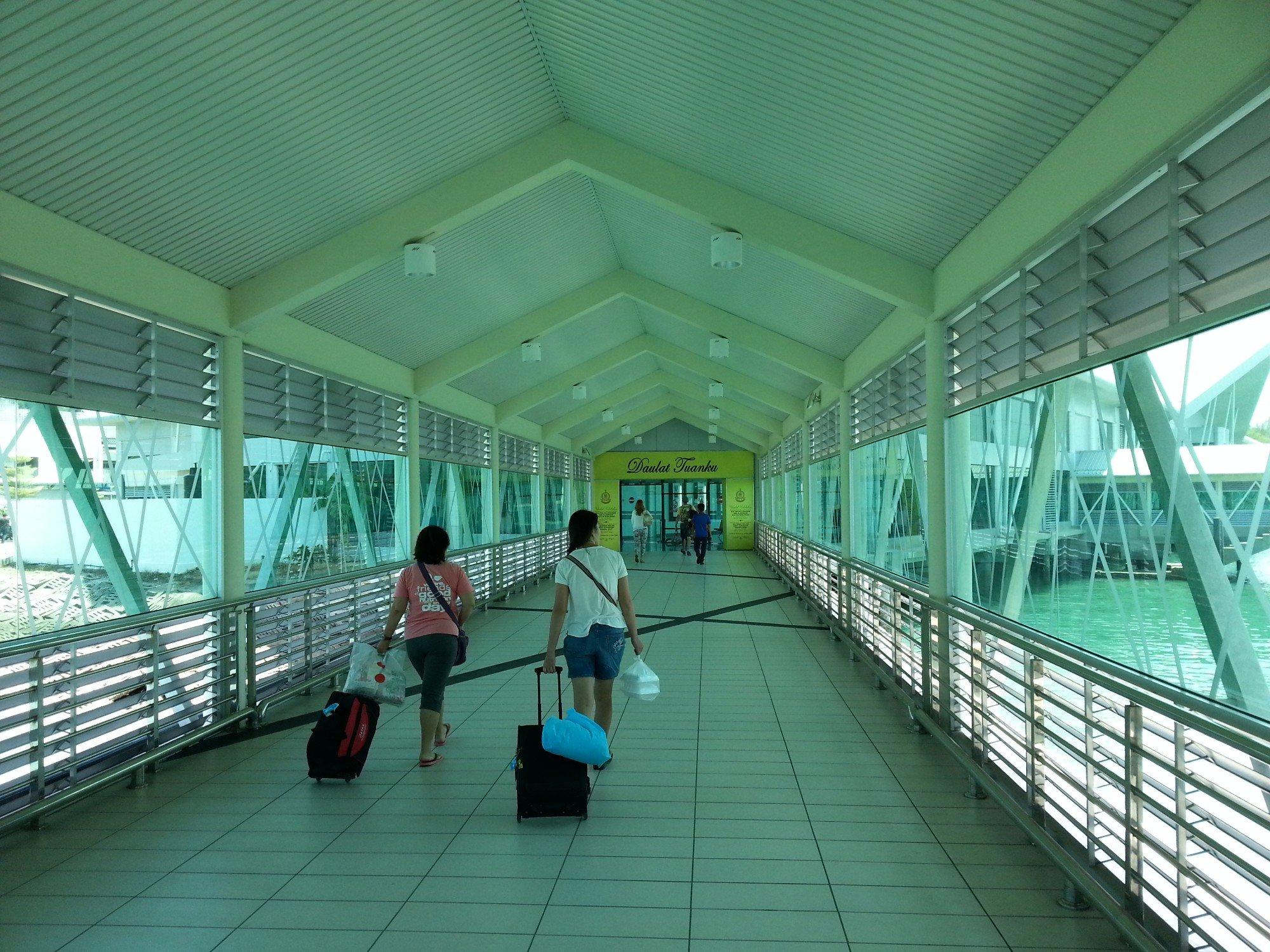 Walkway at Kuah Jetty
