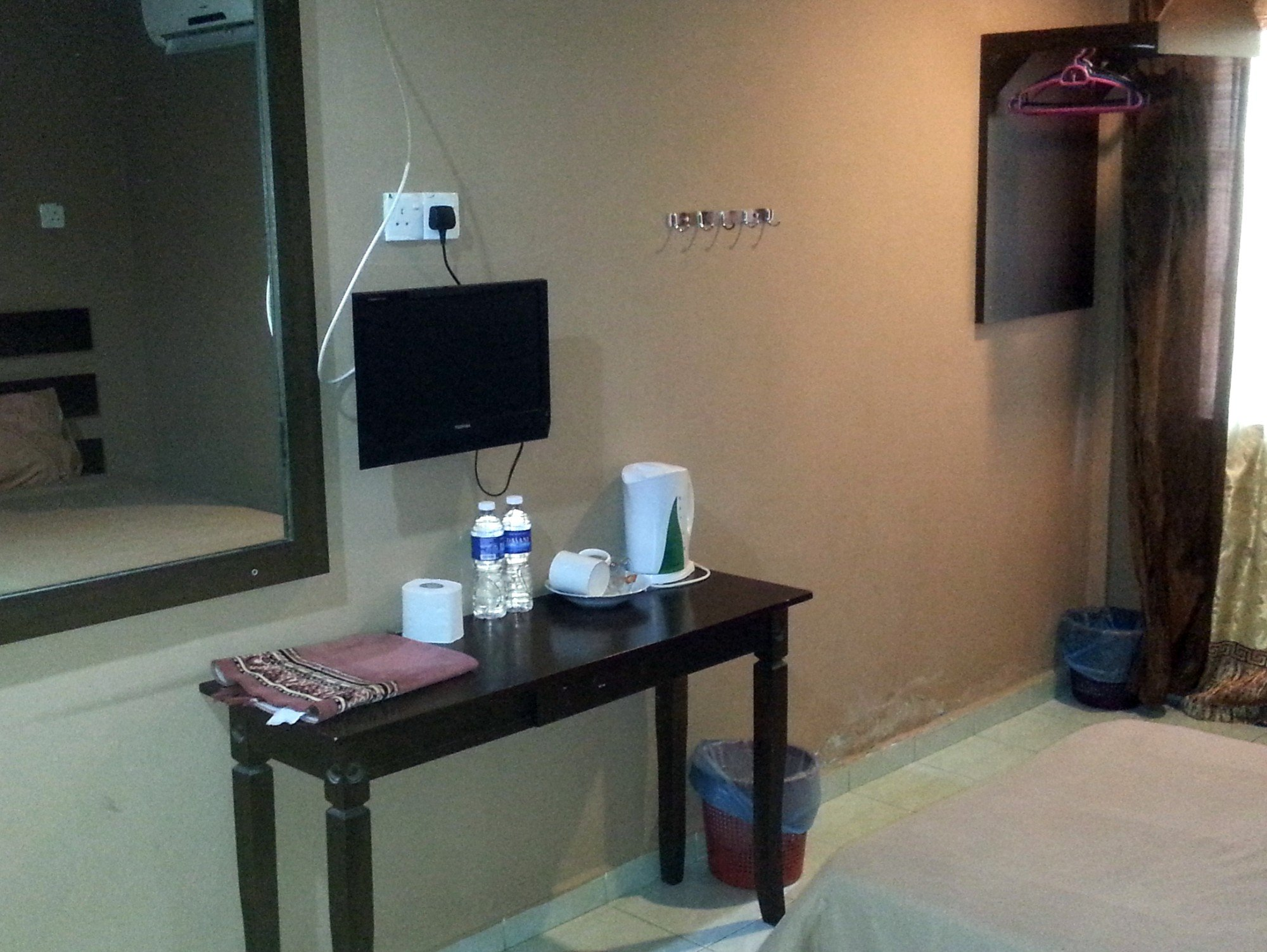 Room facilities at the Motel Sei Mutiara