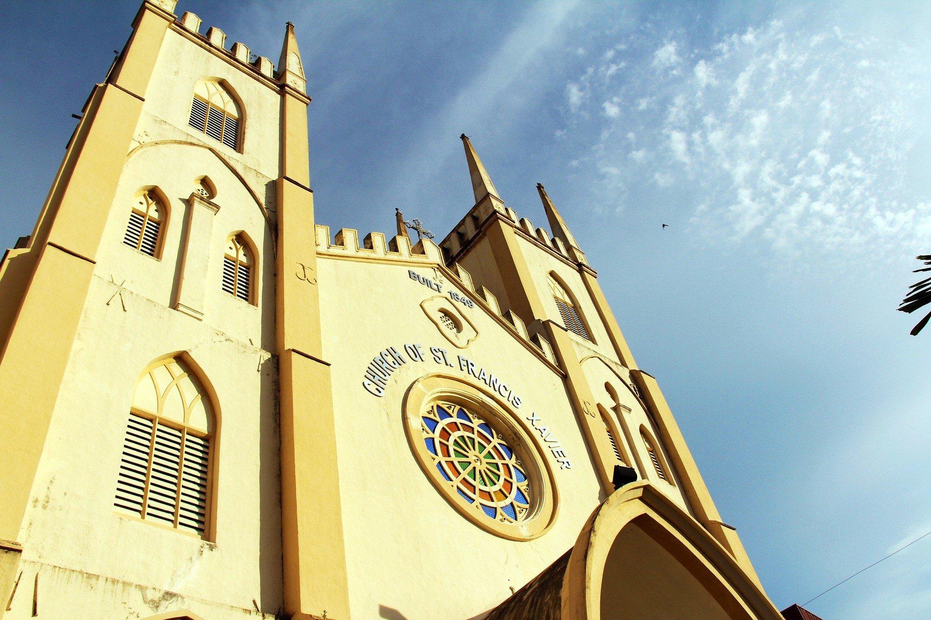 Church of St. Francis Xavier in Melaka