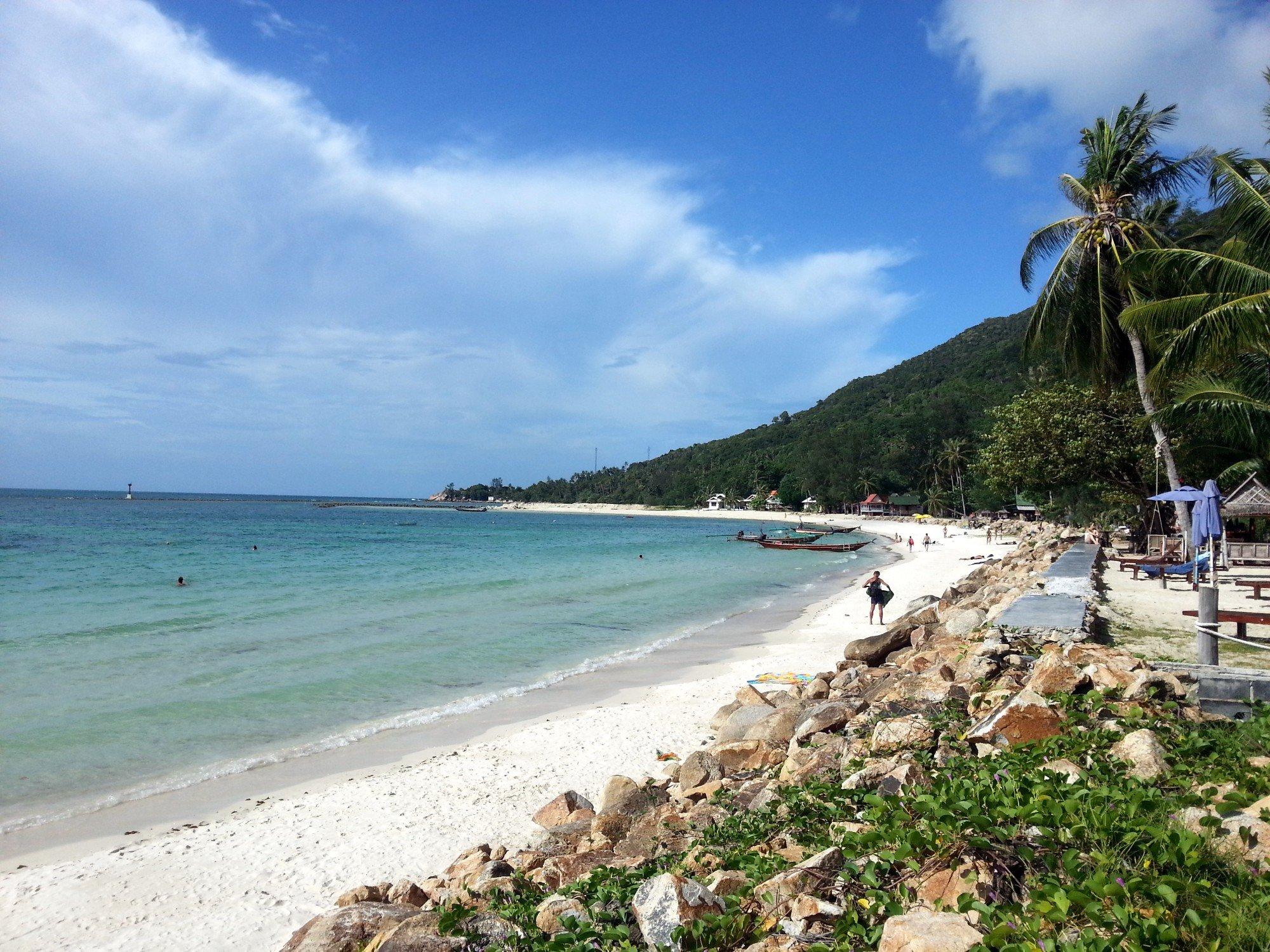 North coast of Koh Phangan