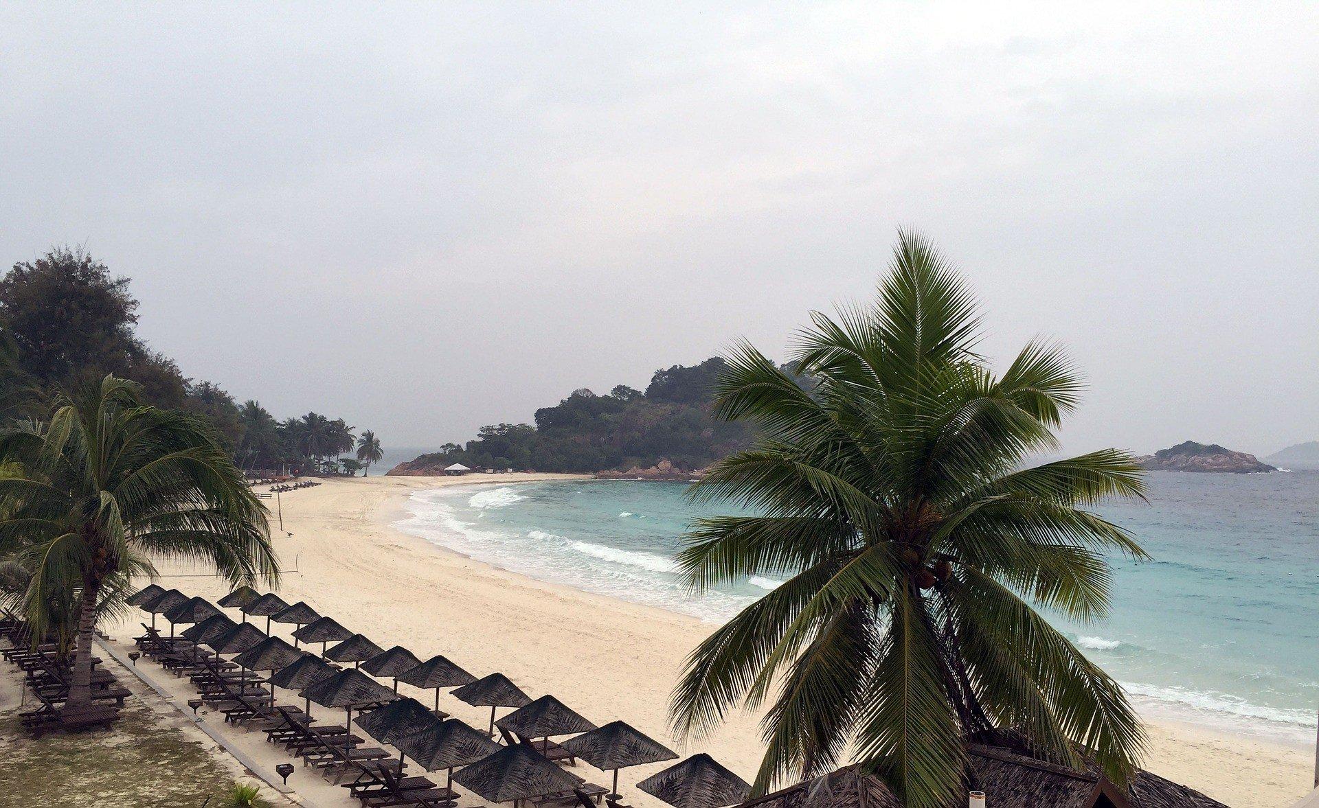 Redang Island off the coast of Terengganu State