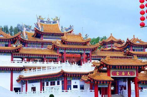 Thean Hou Chinese Temple in Kuala Lumpur