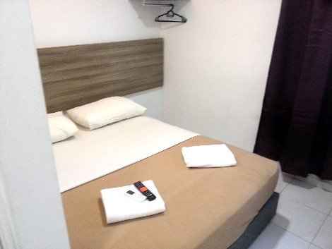 Bed at the T Hotel in Melaka