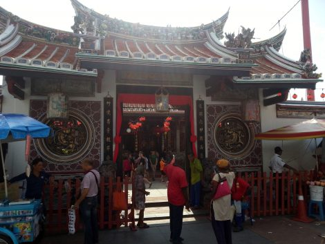 Entrance gate to Cheng Hoon Teng Temple