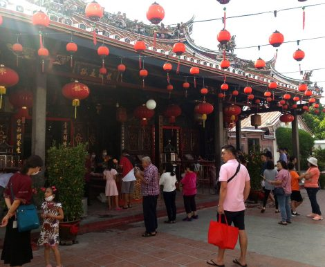 Main building at Cheng Hoon Teng Temple