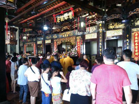 Main shrine at Cheng Hoon Teng Temple