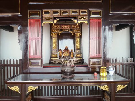 Secondary shrine at Cheng Hoon Teng Temple