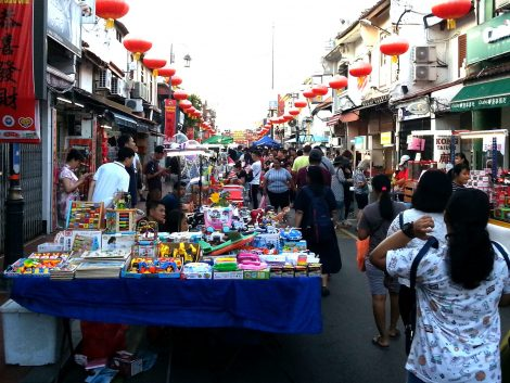 Toy stall at Jonker Walk Night Market