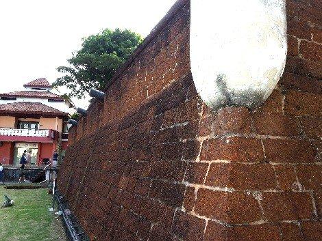 Bastion Middleburg in Melaka