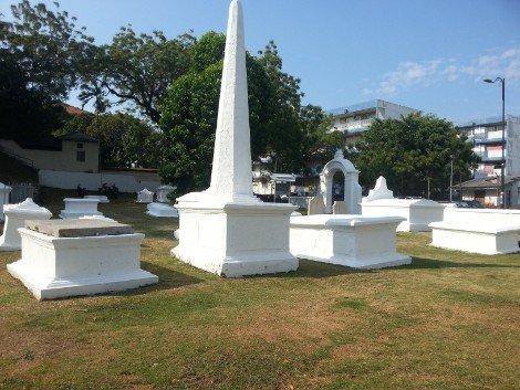 Dutch Graveyard in Melaka