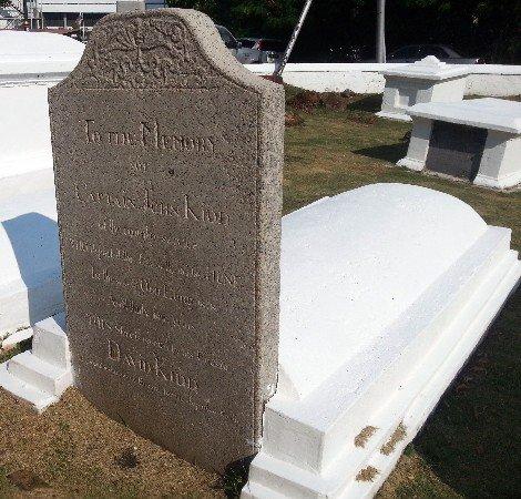 Grave of Captain John Kidd in Melaka