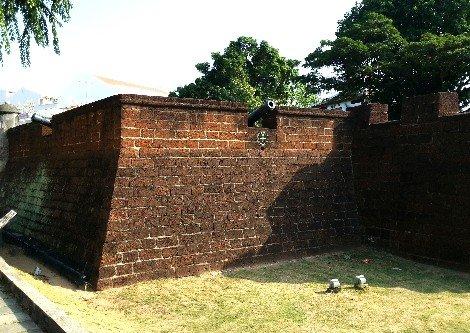 Walls of Bastion Middleburg