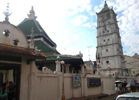 Minaret at Kampung Kling Mosque