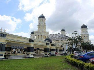 Sultan Abu Bakar State Mosque in Johor Bahru