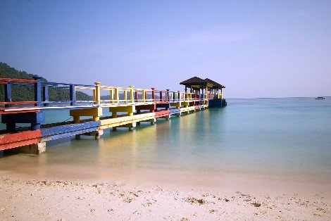 Ferry services to the Perhentian Islands depart from Kuala Besut