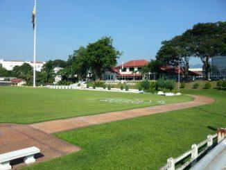 The Royal Ipoh Club overlooking Ipoh Padang