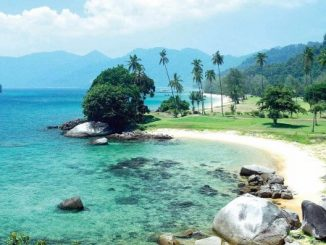 Beautiful beaches on Tioman Island