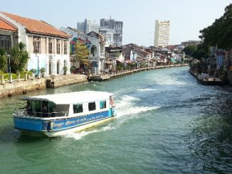 Riverside in Malacca