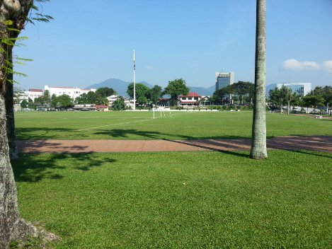 Open space in Ipoh City Centre