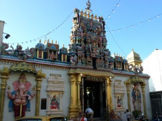 Sri Mahamariamman Temple in George Town, Penang